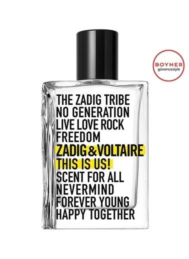 Zadig&Voltaire Zadig&Voltaire This is Us 50 ml Edt Parfüm Renksiz